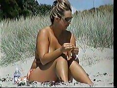 مسابقه زیبایی كانال هاي سكسي برای افراد برهنه در ساحل شنی