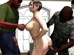 Arwen كانال تلگرام گيف سكسي Gold با یک اسباب بازی بزرگ جنسی مقعد را خودارضایی می کند